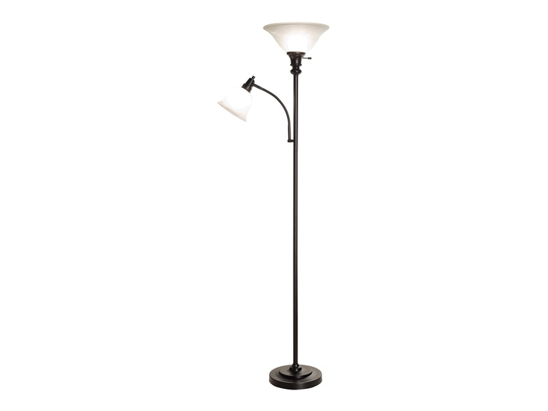Anthony California, Inc. Black Torchiere Lamp 101479