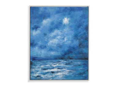 Blue Clouds Canvas Art 111690
