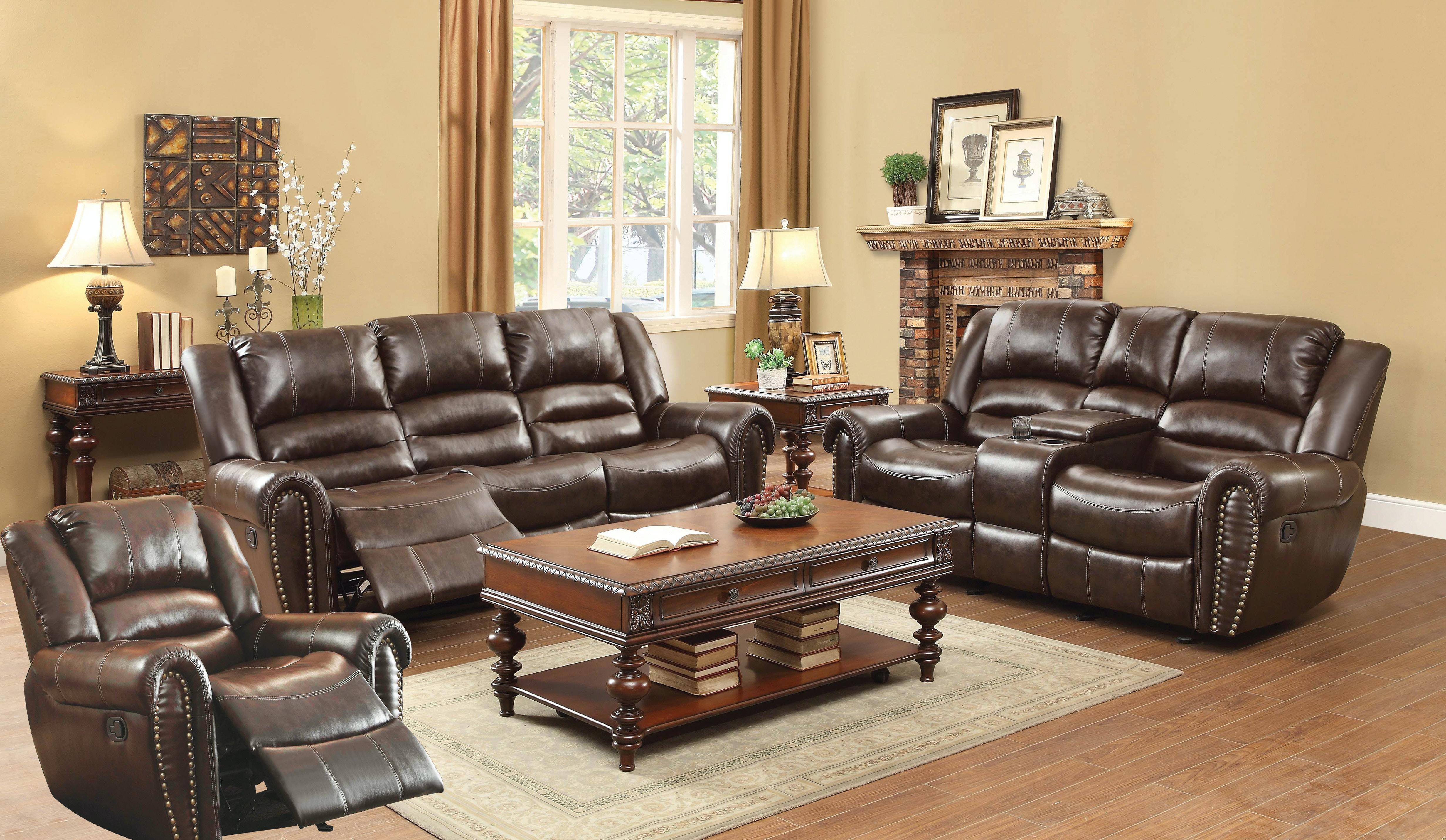 Homelegance Dallas Living Room Group 119388