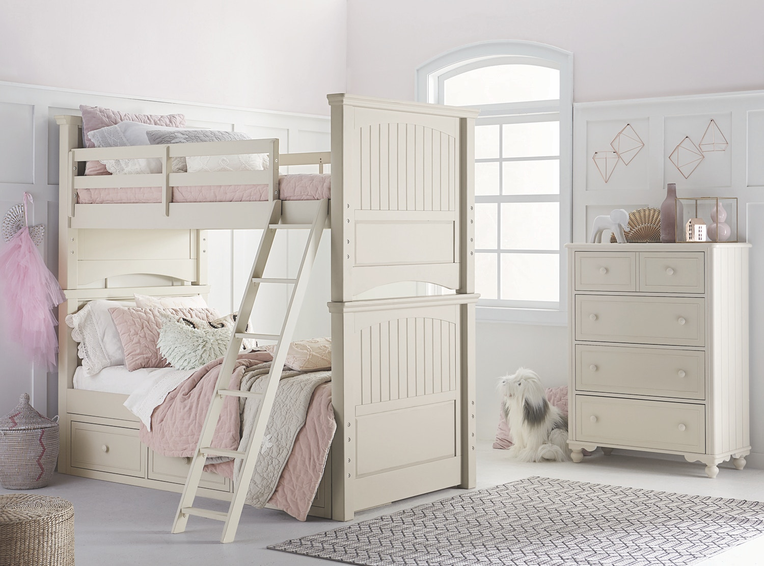 Legacy Classic Kids Youth Bedroom Summerset Bunk Bed Twin Over Twin 147178 Furniture Fair