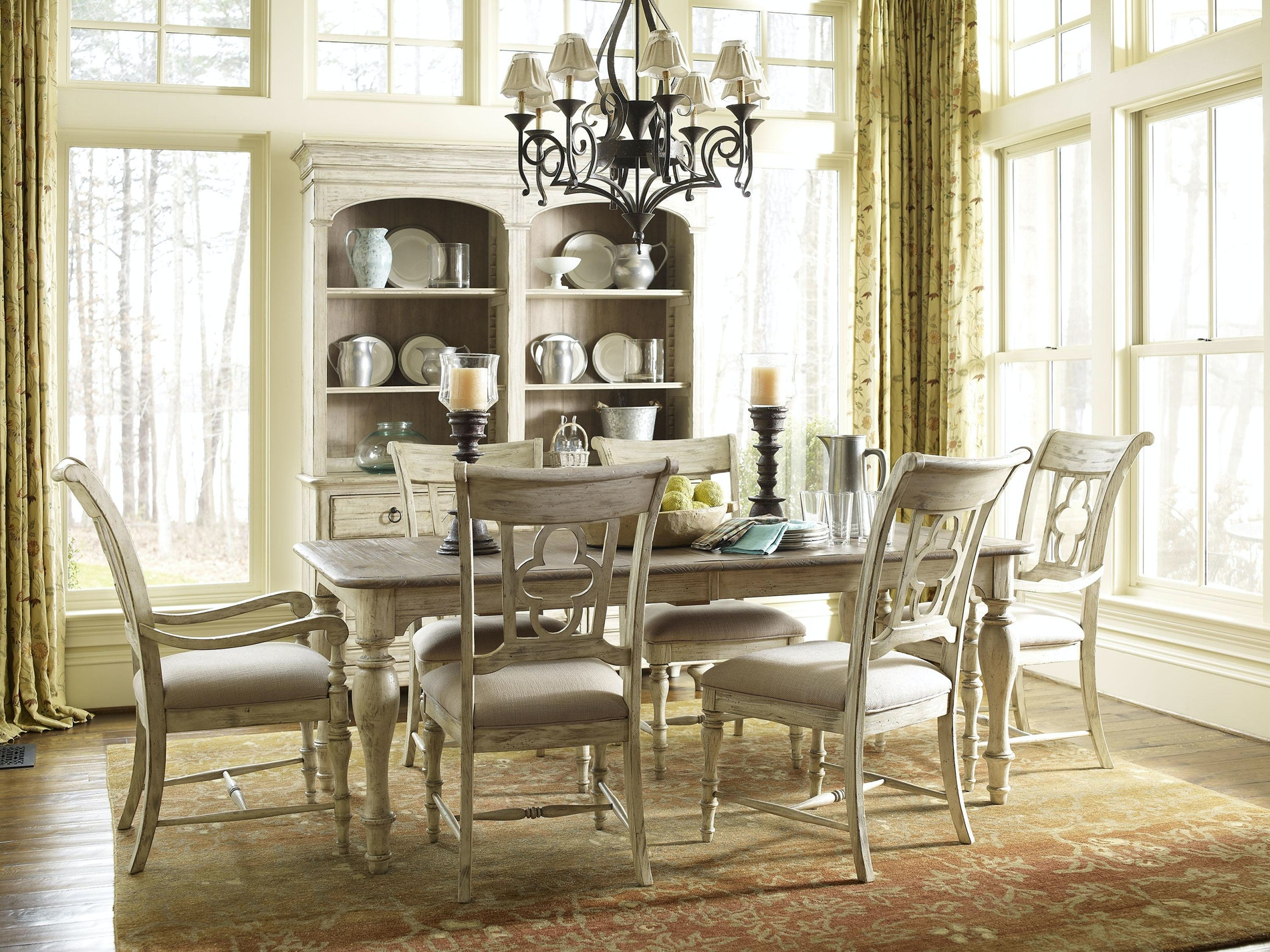 Superior Kincaid Furniture Weatherford Dining Set 176447 Design