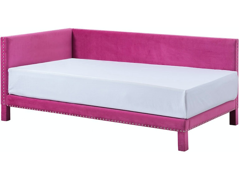 Standard Furniture Youth Ryleigh Corner Bed - Pink 182873 ...