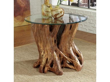 Rootball End Table 208988