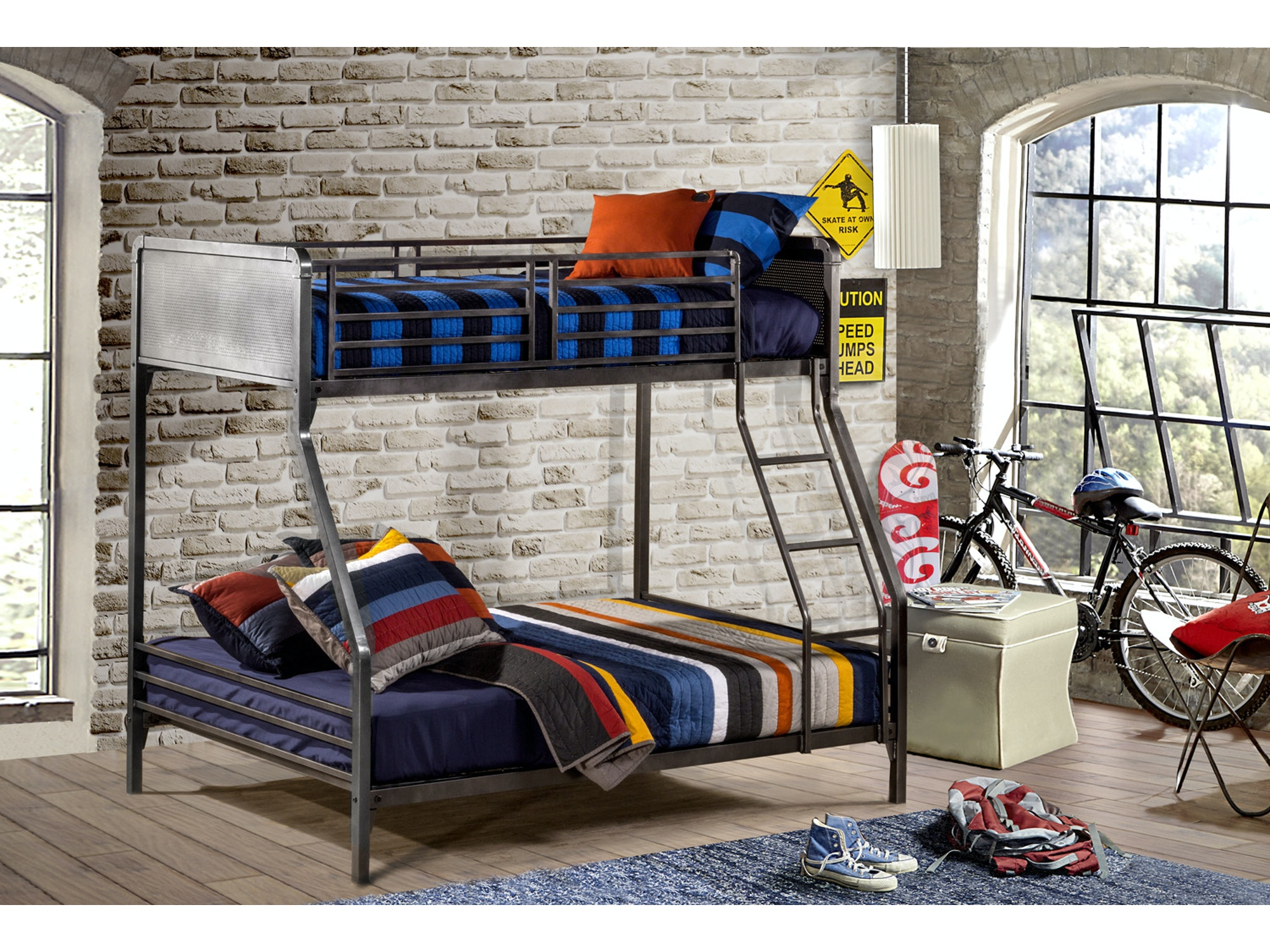 Urban Quarters Bunkbed - Twin over Full 209184
