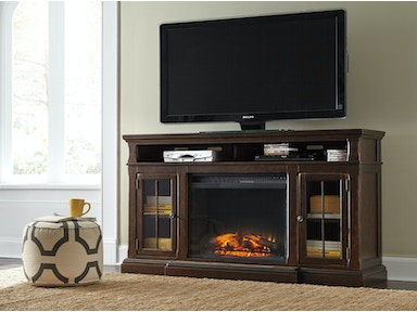 Roddington TV Stand with Fireplace - Grand 225901