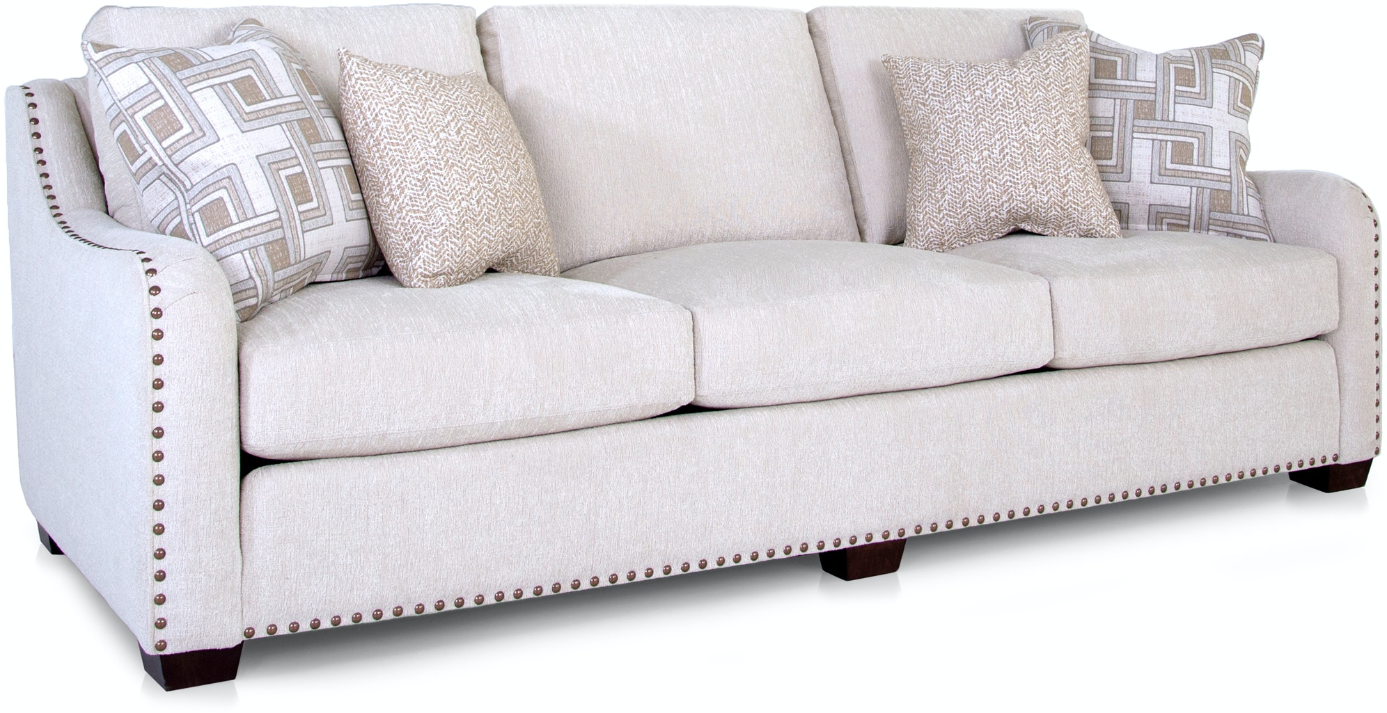 Lovely Nailhead Trim sofa Luxury