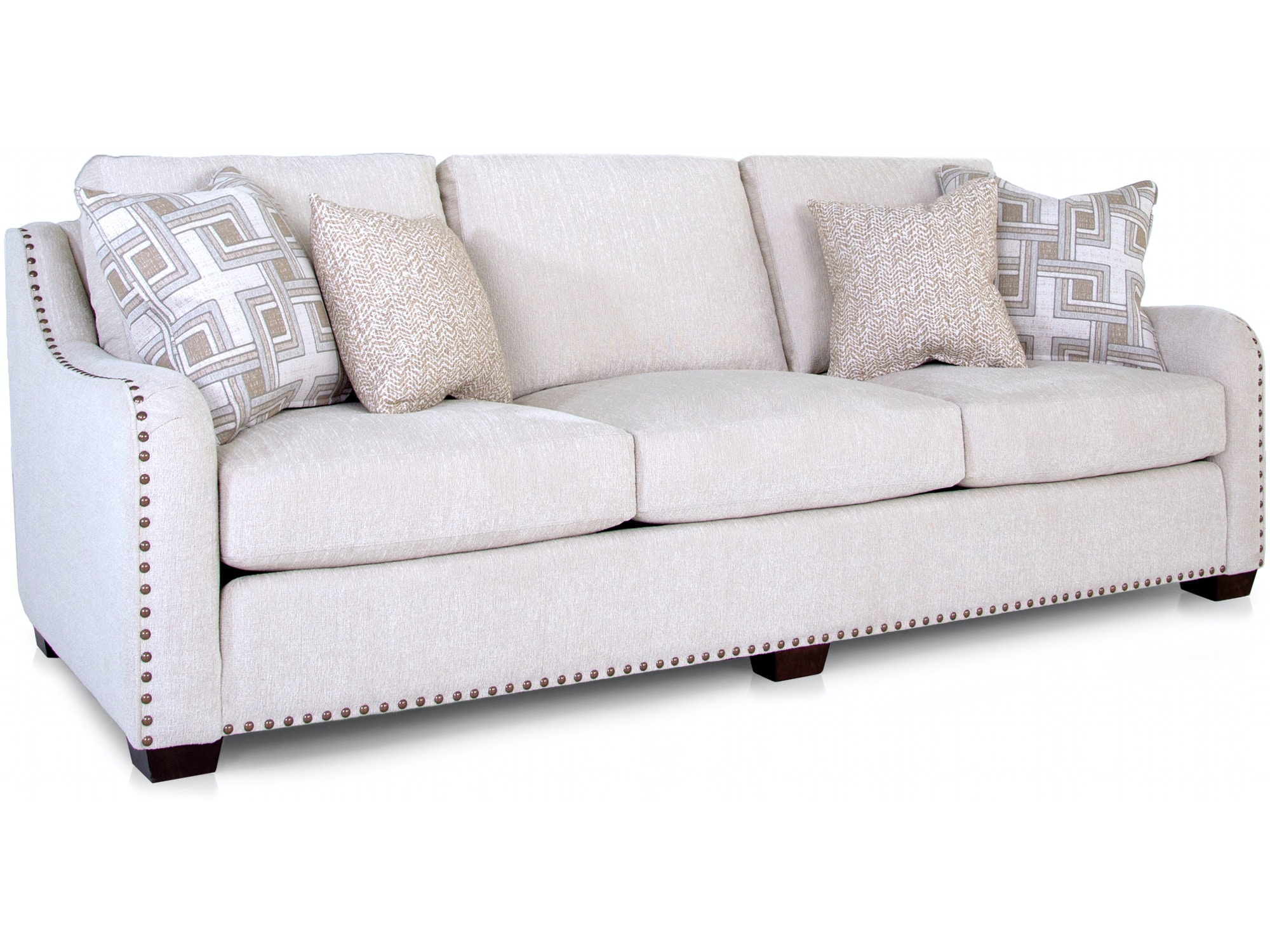 English Nailhead Trim Sofa 055899