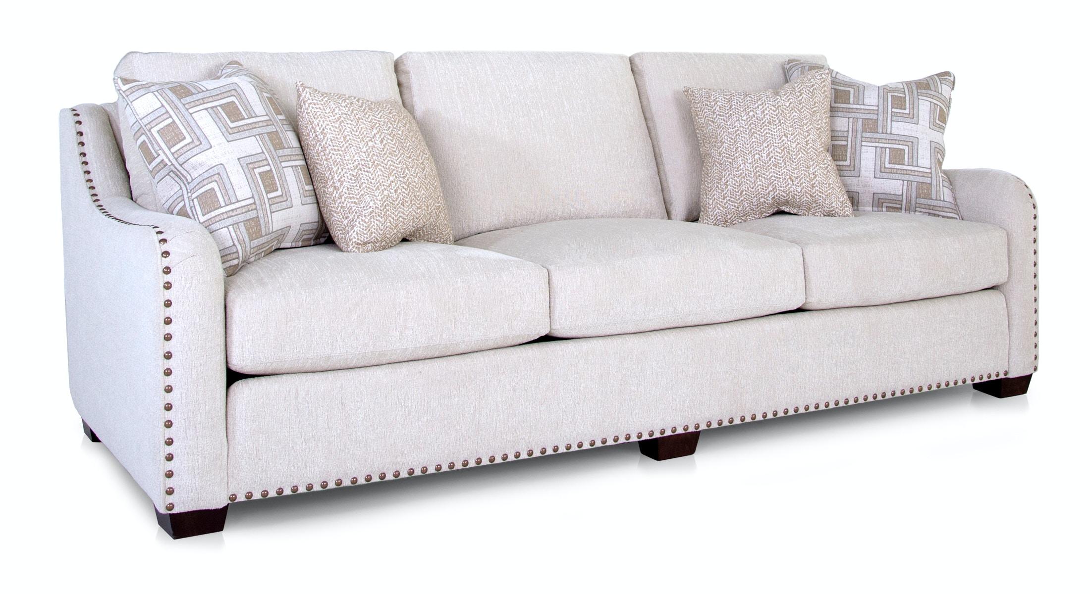 smith brothers english nailhead trim sofa - Nailhead Sofa