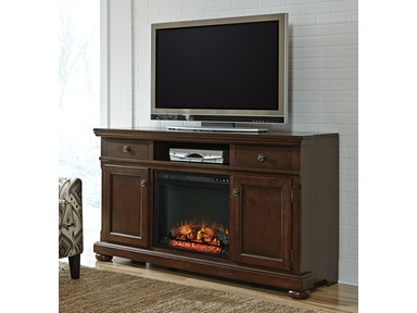 Porter TV Stand with Fireplace - Grand 300338