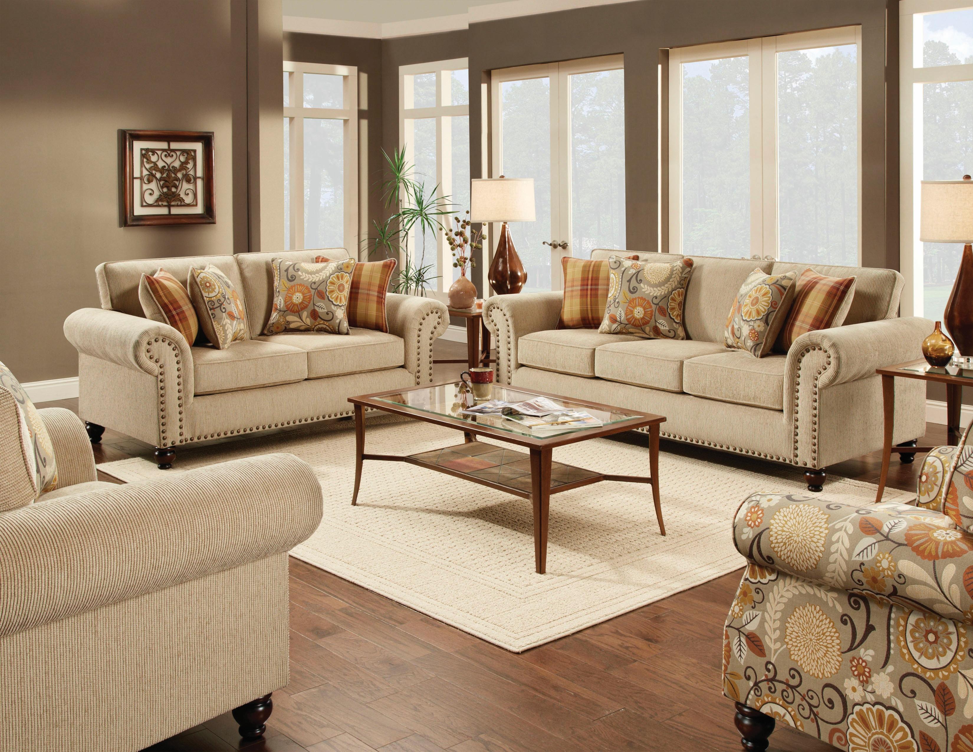 Fusion Out West Linen Sofa 043792