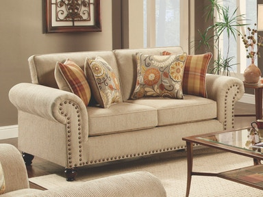 Out West Linen Loveseat 043793