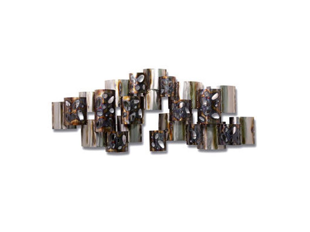 Artisan House Overlay Metal Wall Art 834259