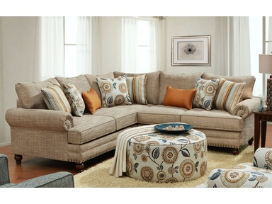 Seymour Bottega Sectional with Ottoman 352756