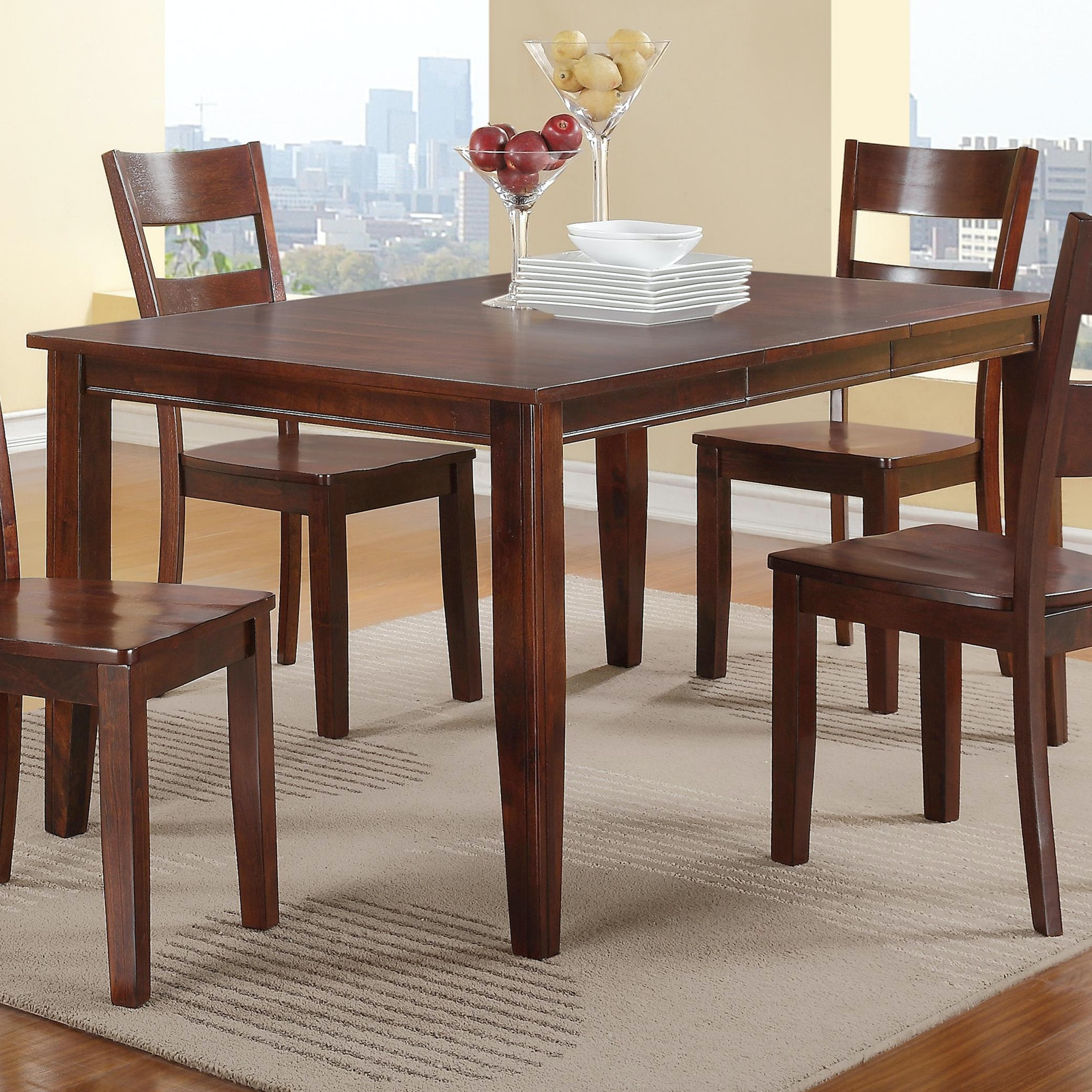 Holland House Dining Room Canton Dining Set 363049 - Furniture ...