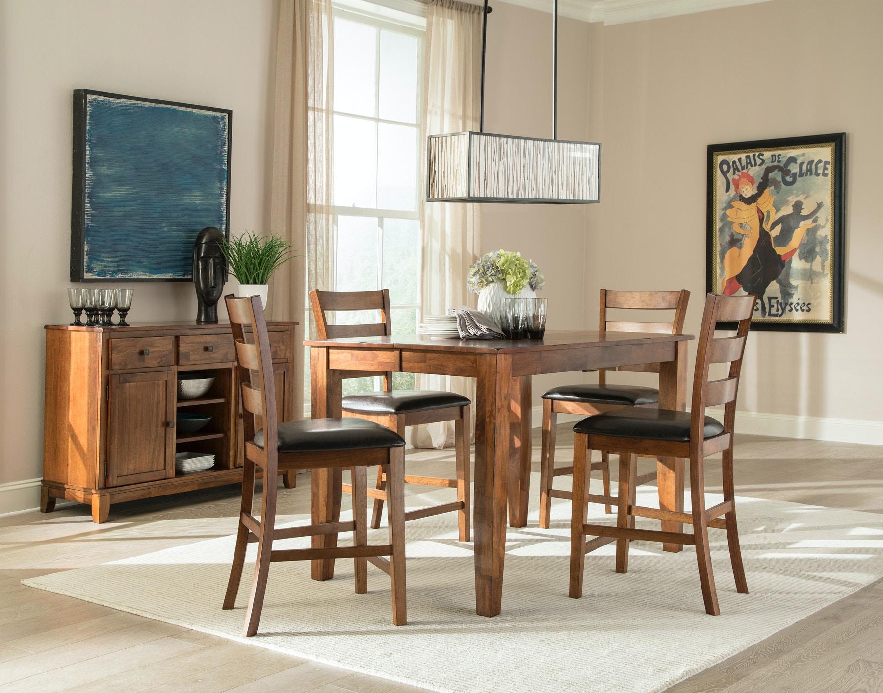 Intercon Kona Counter Dining Set   Brandy 374225