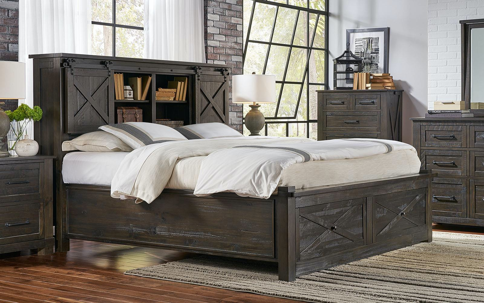 a america bedroom sun valley storage bed king 392949 furniture