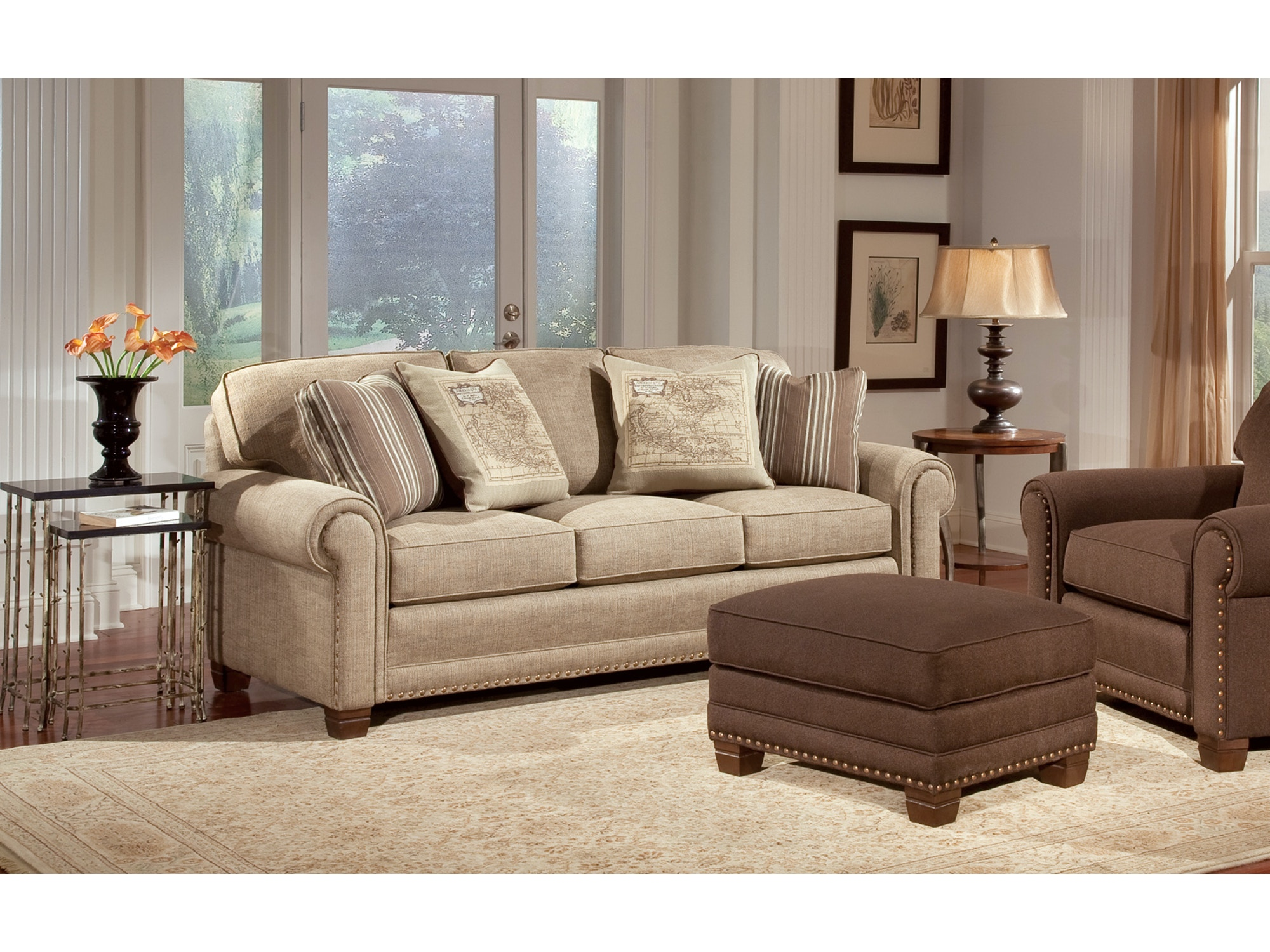 Three Cushion Sofa 055903