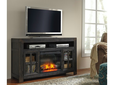Gavelston TV Stand with Fireplace - Large 415480