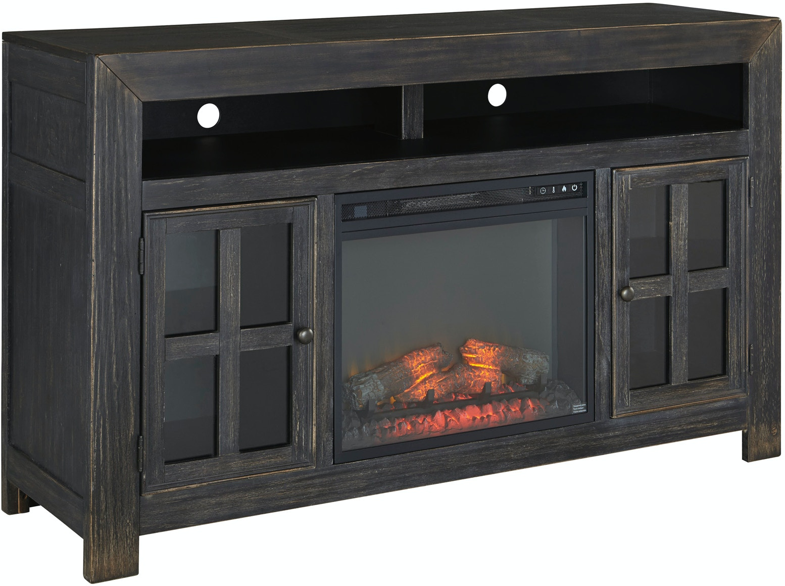 signature design by ashley accessories gavelston tv stand with