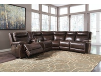 Zaiden Reclining Sectional 424985