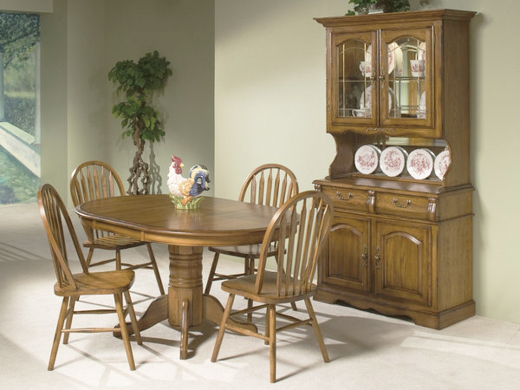 Intercon Dining Room Classic Oak Dining Set 125211 - Furniture ...