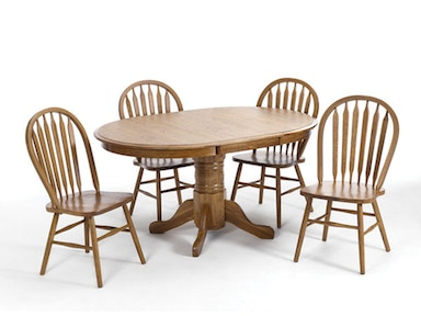 Classic Oak Dining Set 125211