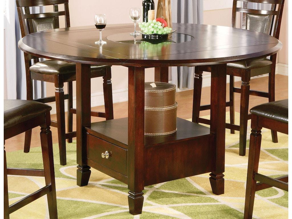 Holland House Dining Room Dark Merlot Pub Dining Set 447554