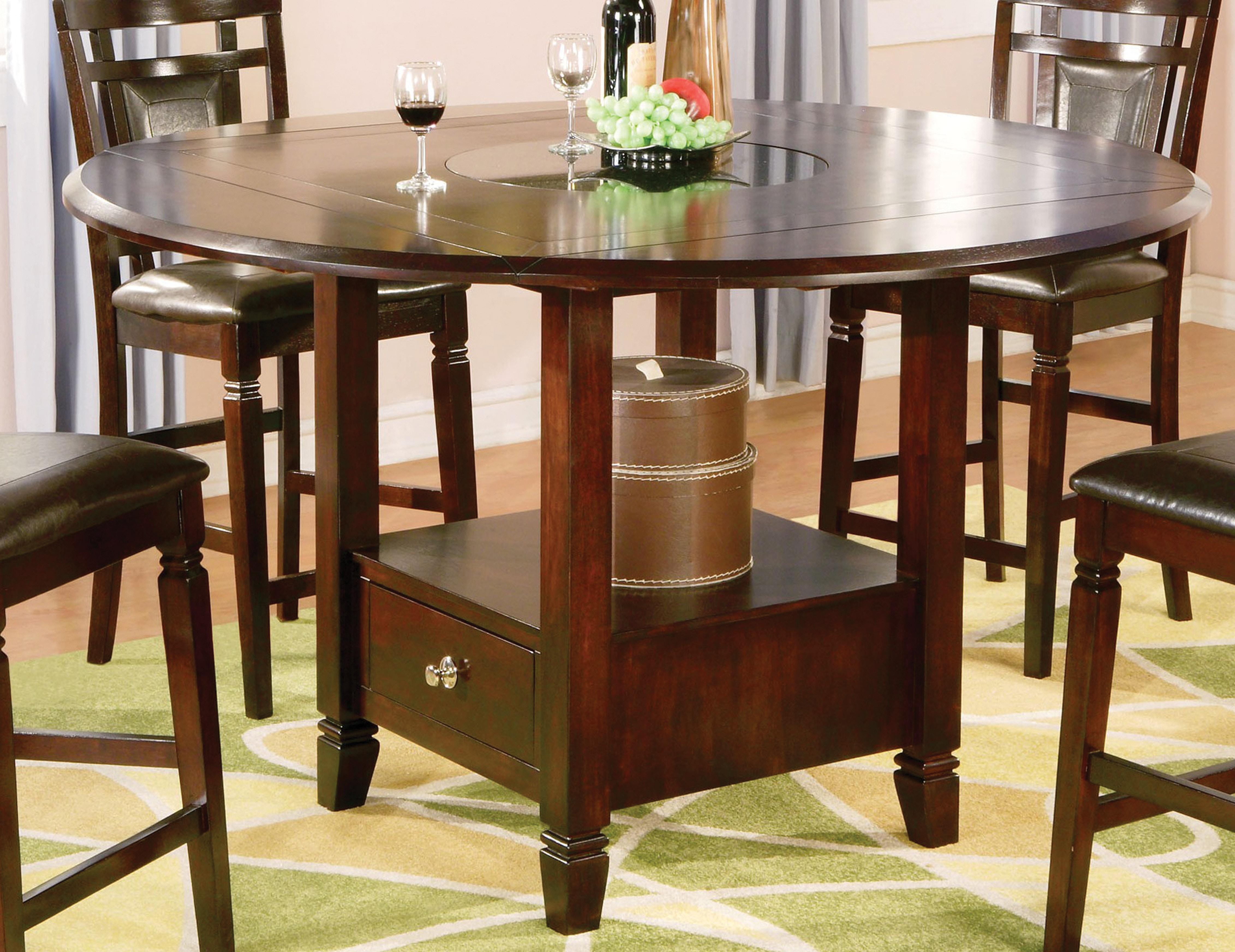 Holland House Dining Room Dark Merlot Pub Dining Set 447554 ...