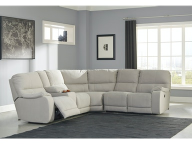 Bohannon Power Reclining Sectional - Left 455790