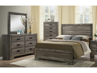 Nathan Panel Bedroom Group - Queen 457425