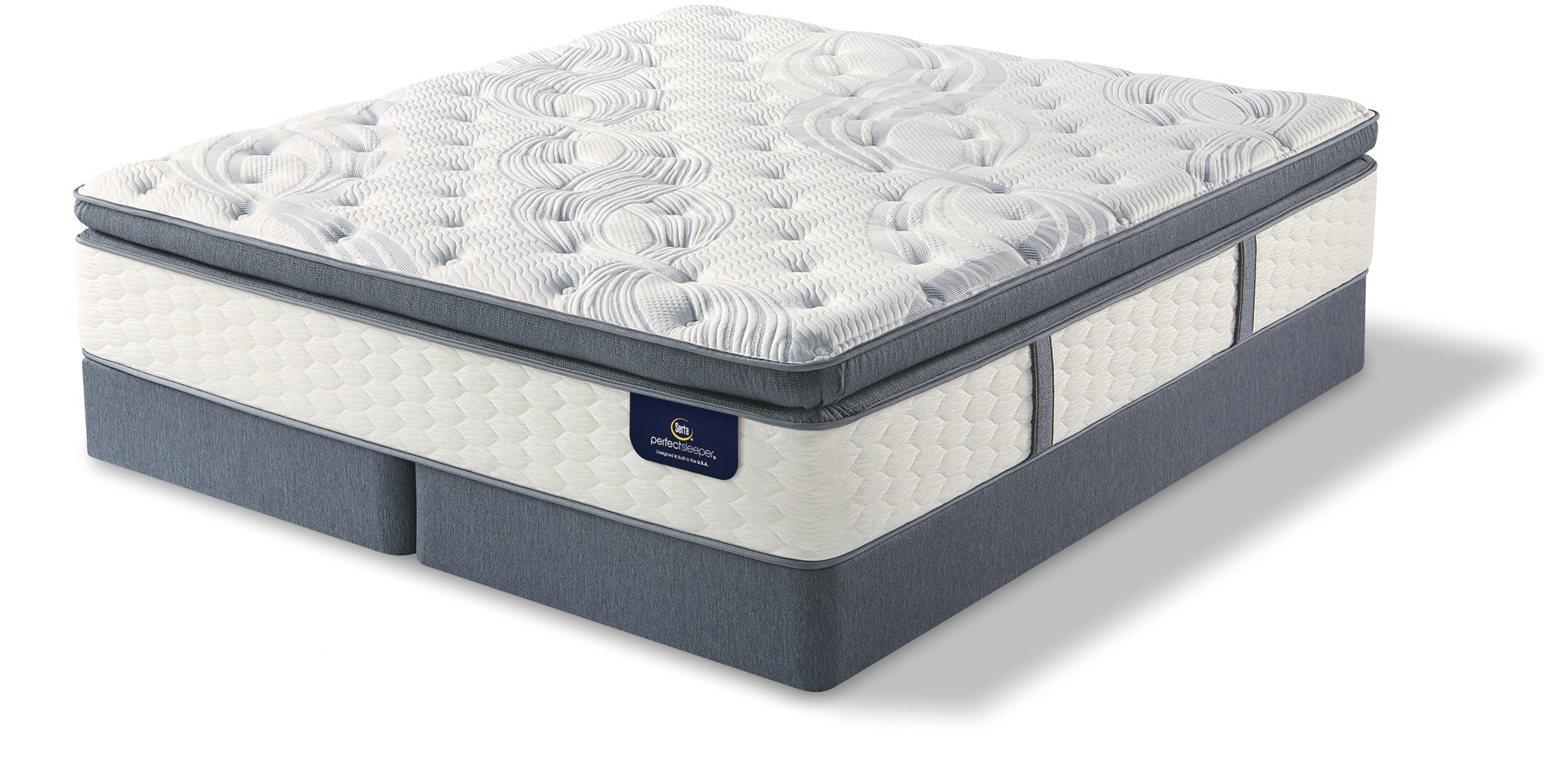 Linden Pond Super Pillow Top Mattress Set - King Perfect Sleeper® by Serta  - 477907
