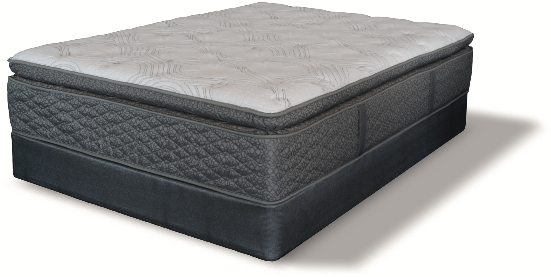 Symbolism Super Pillow Top Mattress Set - Queen by Serta™ - 490536