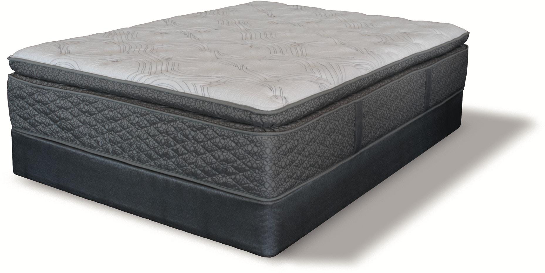 of beautyrest chesapeake queen bay more plush mattress pillow badcock picture top