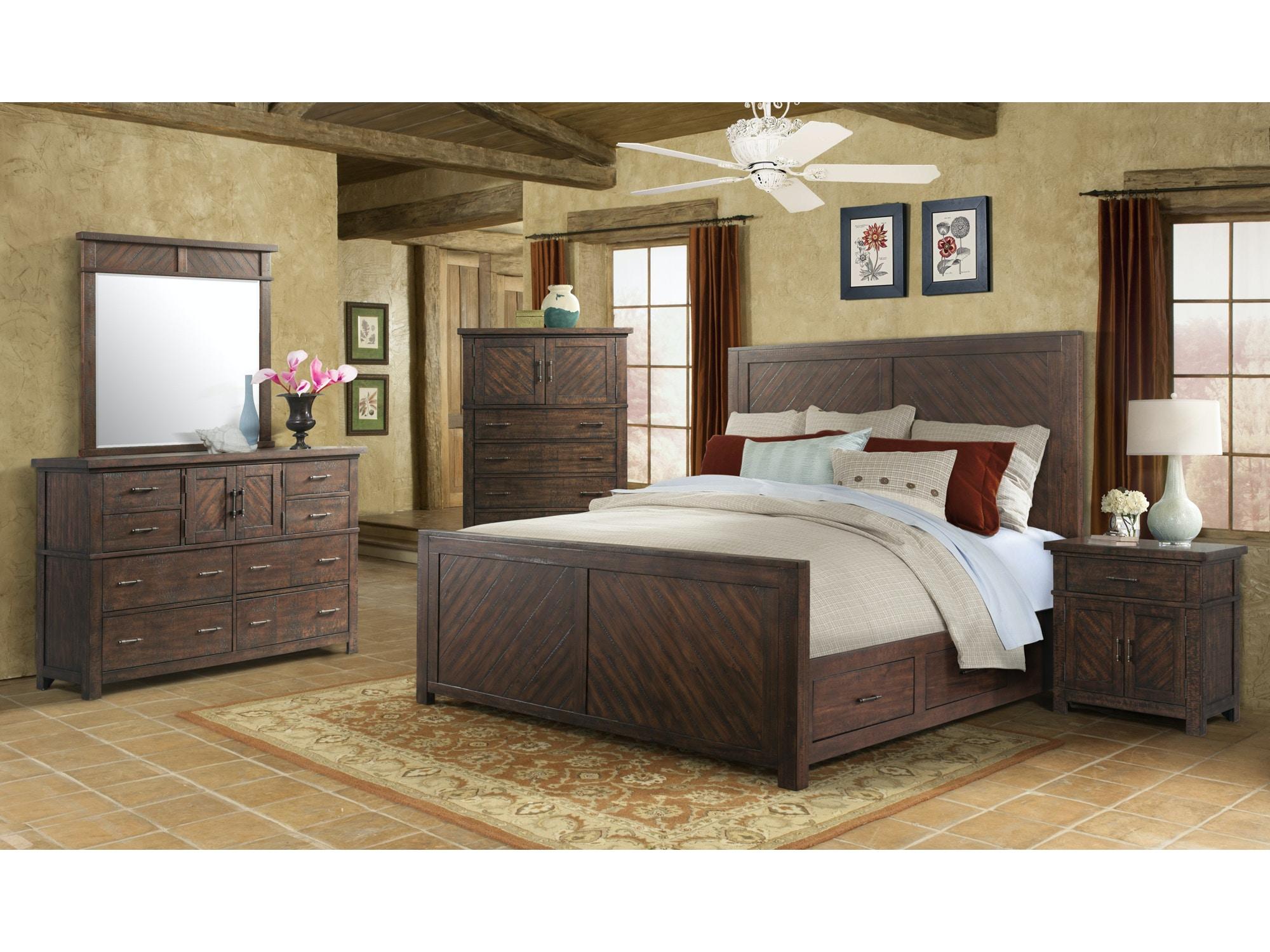 Elements International Master Bedroom Sets - Furniture Fair ...
