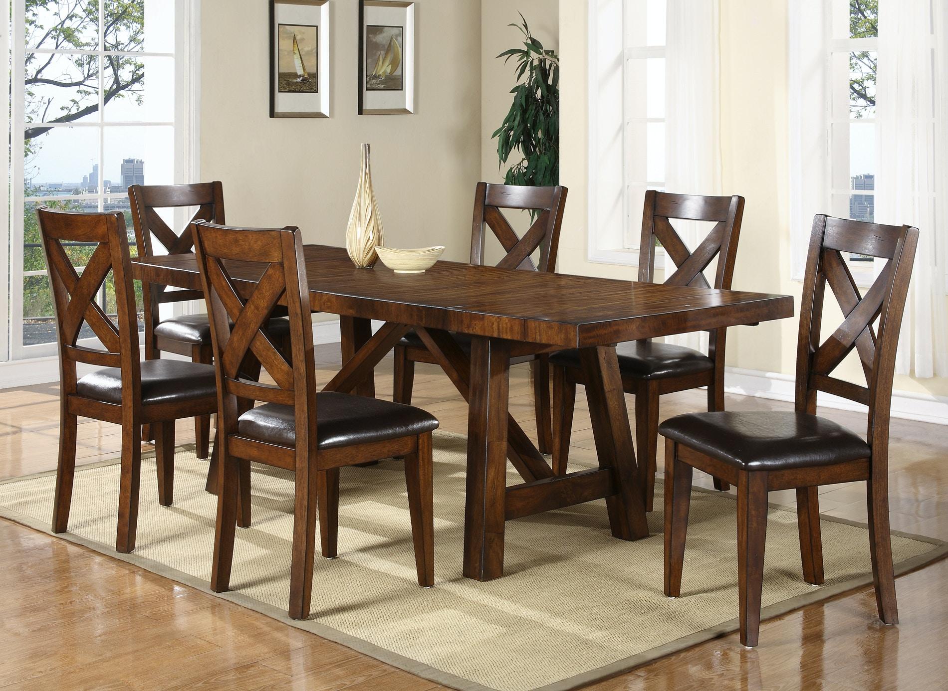 Holland House Mango X Back Dining Set 511536