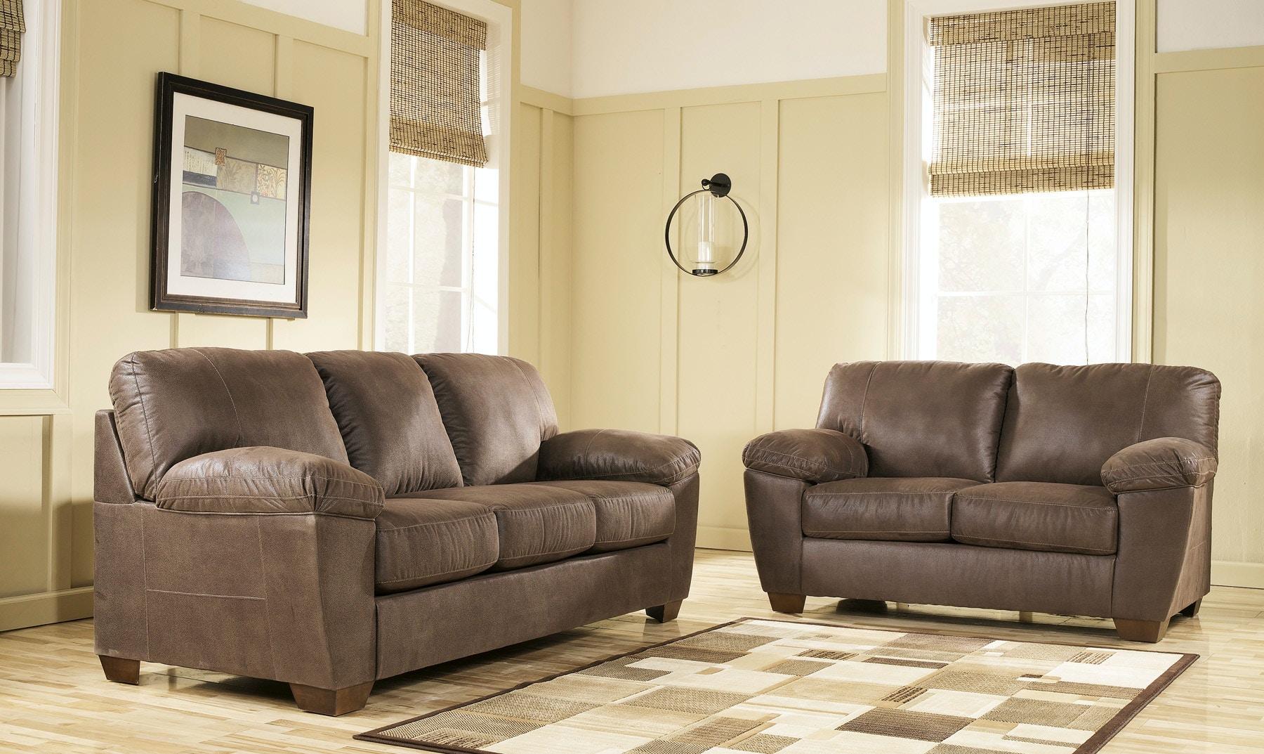 Signature Design By Ashley Living Room Amazon Sofa And Loveseat Set 520310 Furniture Fair