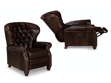 Power Reclining Leather Chair 047270