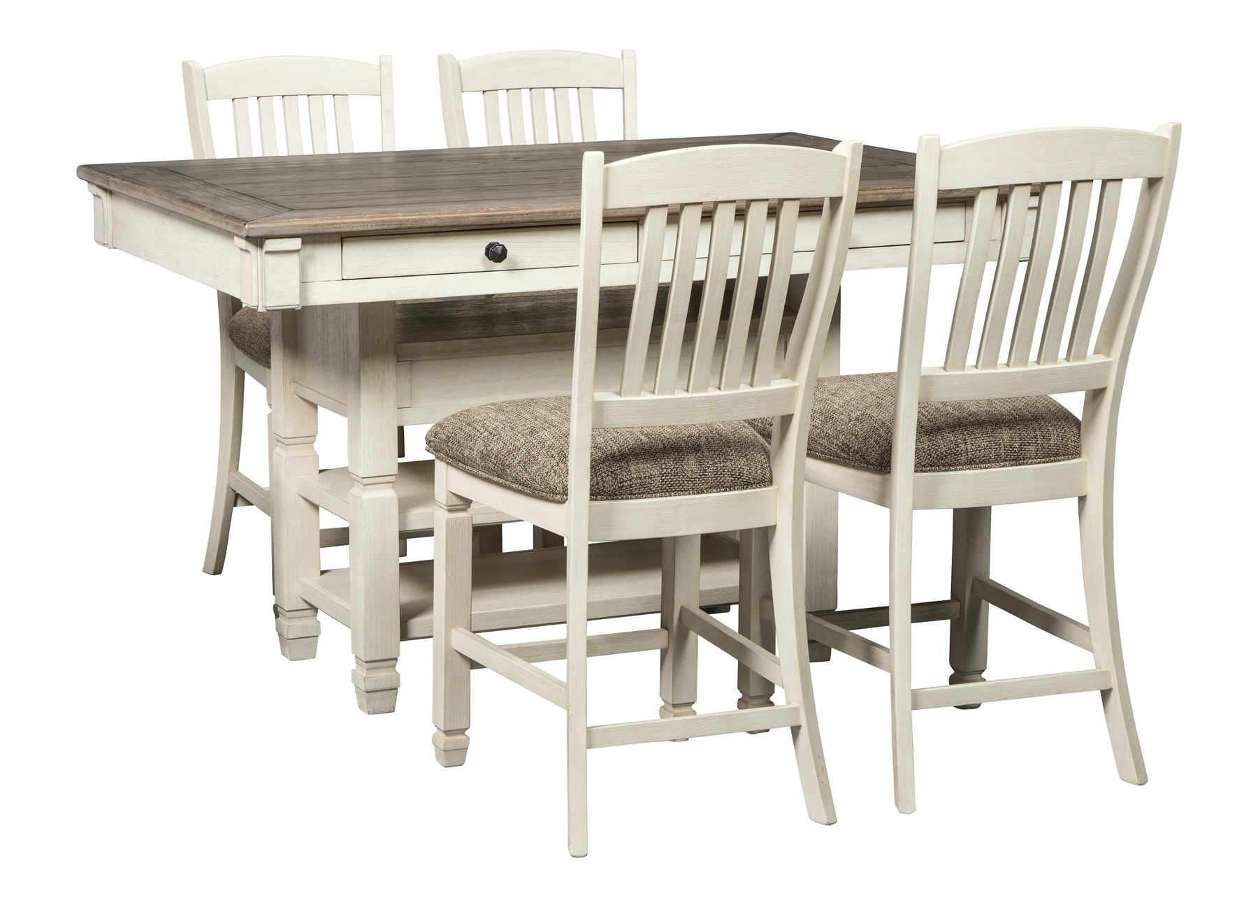 signature design by ashley bolanburg counter height dining set