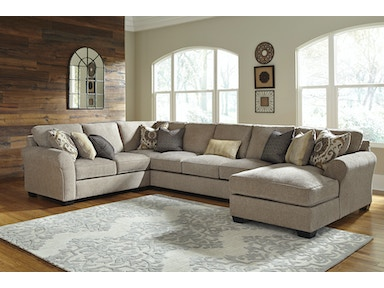 Pantomine Right Chaise Sectional 582056