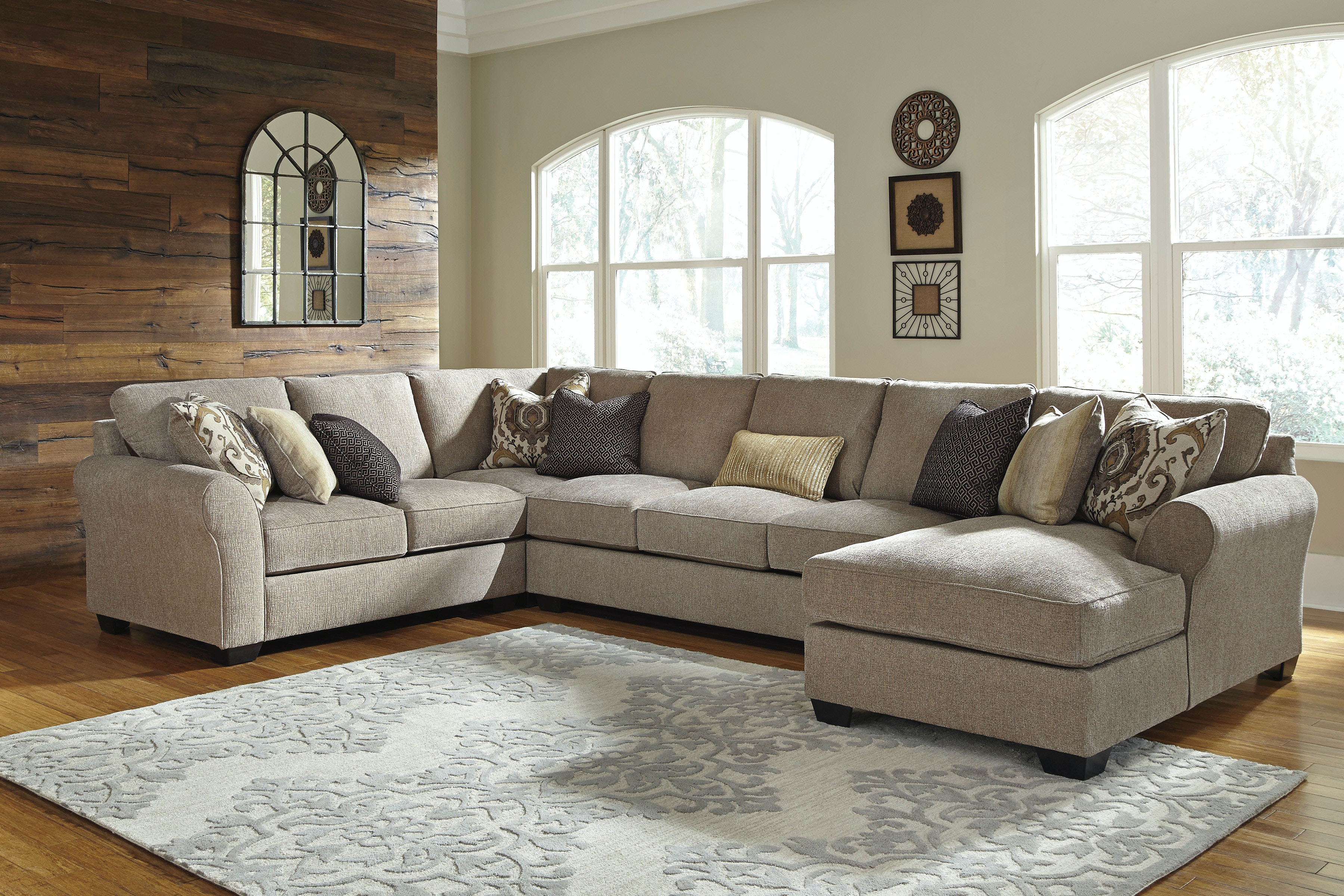 Wonderful Signature Design By Ashley Living Room Pantomine Right Chaise Sectional  582056   Furniture Fair   Cincinnati U0026 Dayton OH And Northern KY