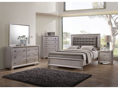 Hollywood Bedroom Group - King 594429