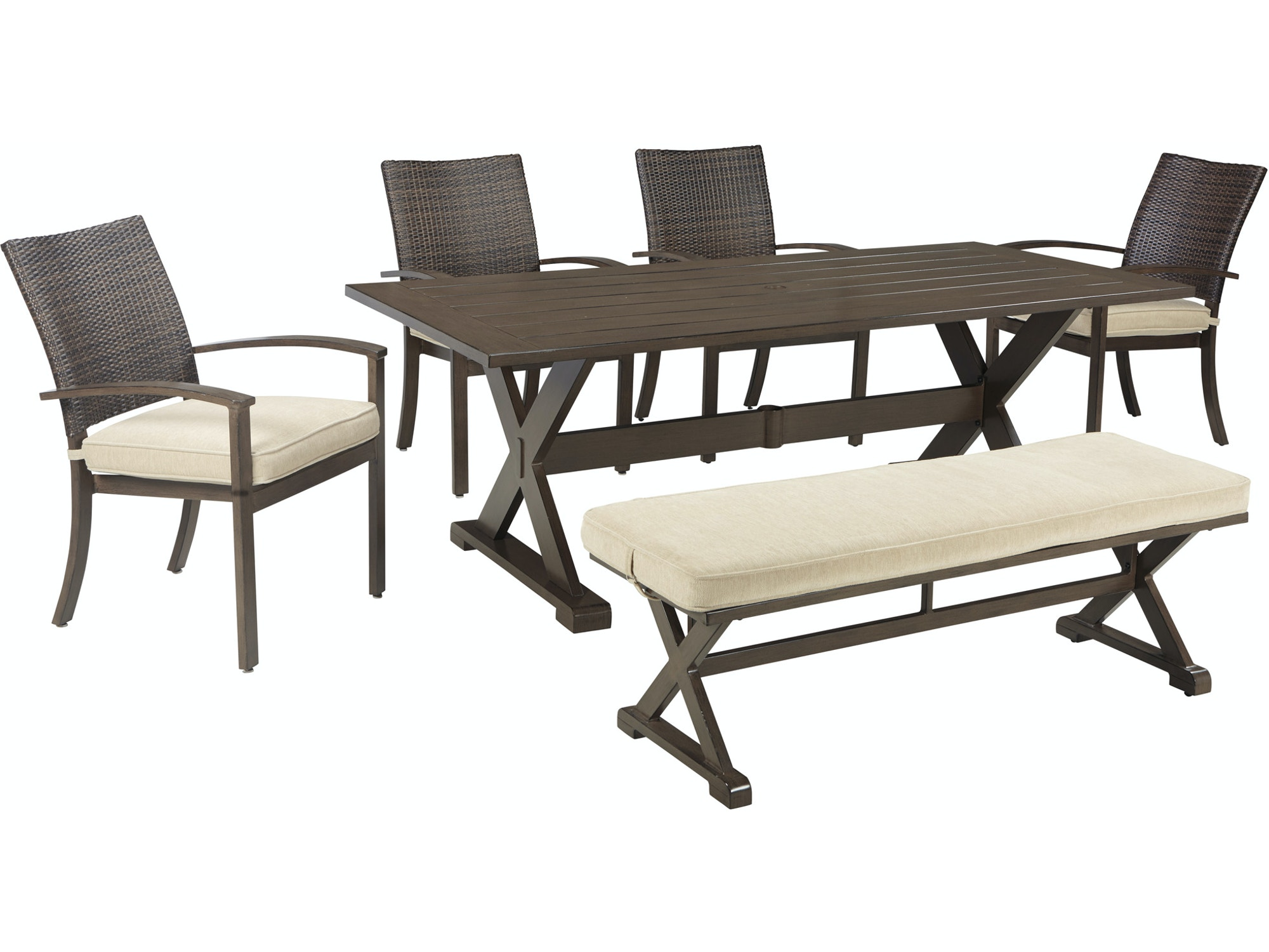 Moresdale Bench Dining Set 603176