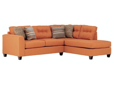 Fandango Flame Sectional 606644