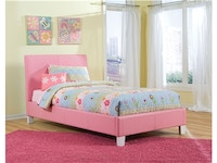 Fantasia Pink Bed - Twin 975334