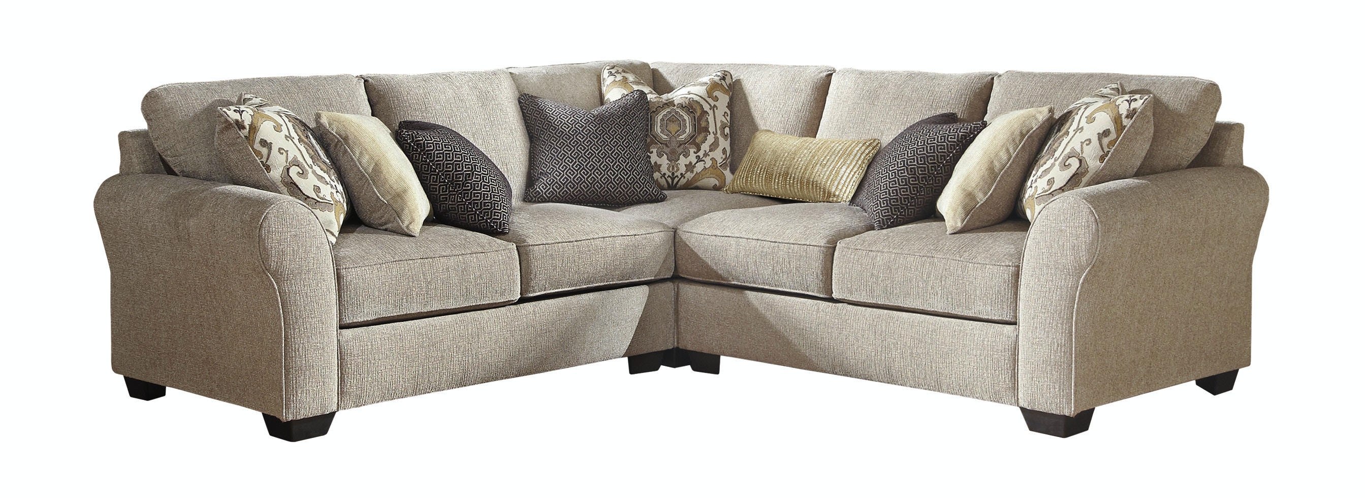 Signature Design By Ashley Living Room Pantomine Balance Sectional 609851   Furniture  Fair   Cincinnati U0026 Dayton OH And Northern KY