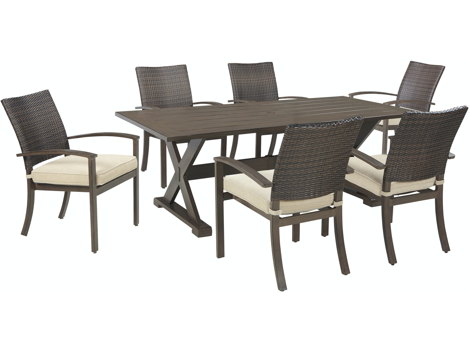 Moresdale 6-Seat Dining Set 637926