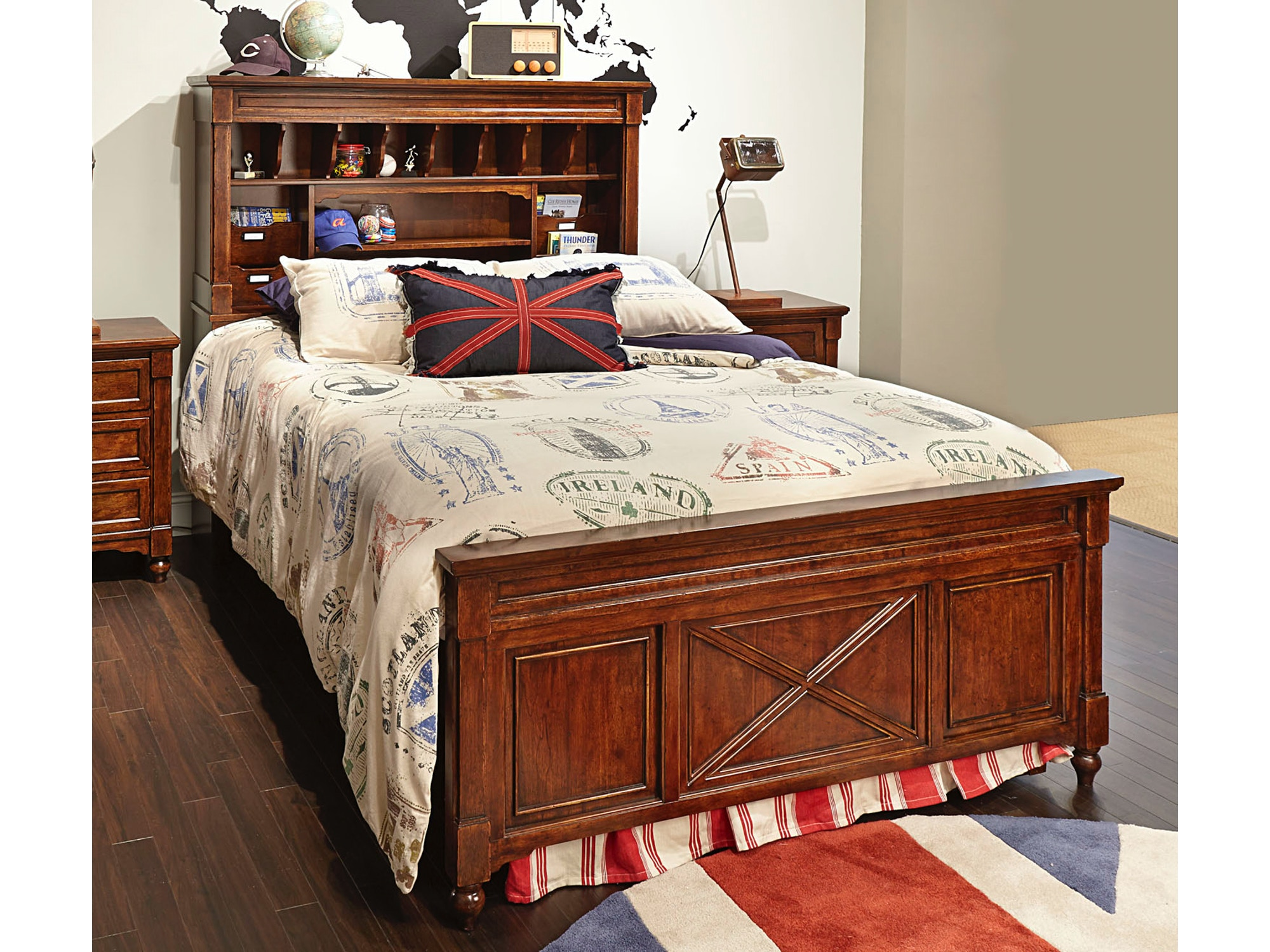Big Sur Bookcase Bed - Twin 653059
