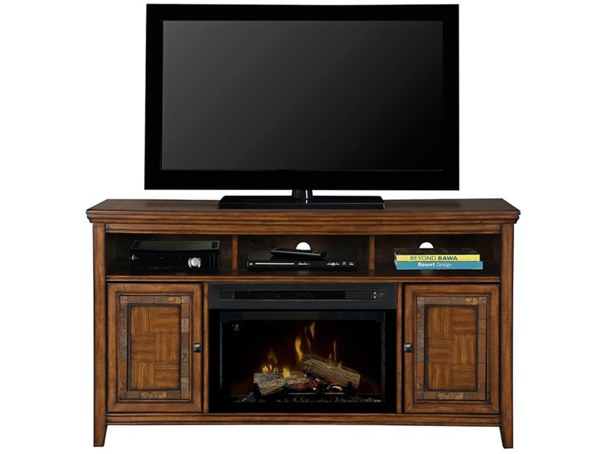 Lynbrook Fireplace Media Console 653199