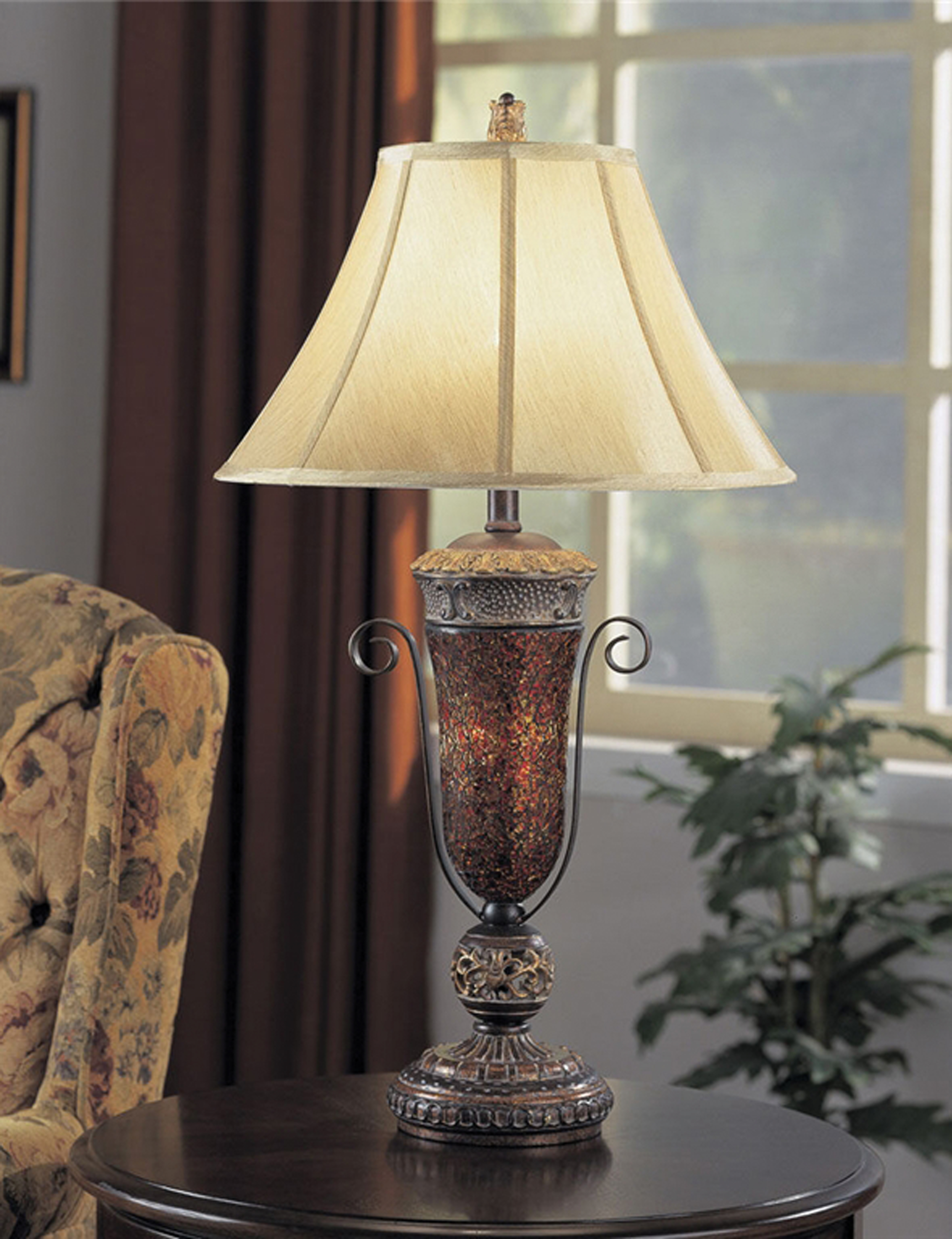 Anthony California, Inc. Lamps and Lighting Mosaic Table Lamp 653385 - Furniture Fair ...