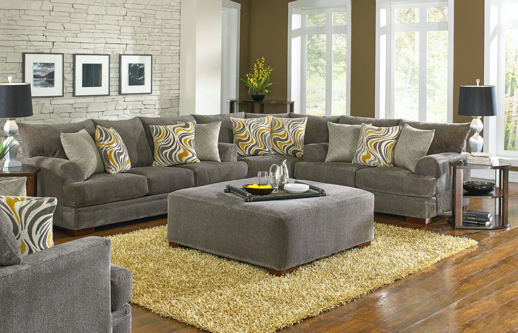 Jackson Furniture Living Room Crompton Sectional